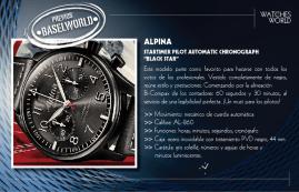 Alpina, Startimer Pilot Automatic Chronograph Black Star.