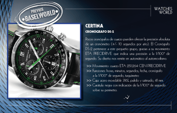 Certina Cronografo DS-2.