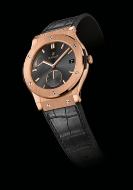 Classic Fusion 8-day power reserve Elegant time, Hublot-style.