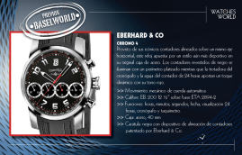 EBERHARD & CO, Chrono 4.