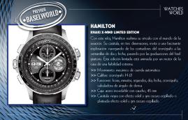 Hamilton Khaki X-Wind Limited Edition.