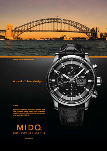 Multifort doble corona se inspira en el puente de Sydney Harbour.