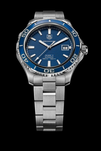 Aquaracer 500M Ceramic Blue.