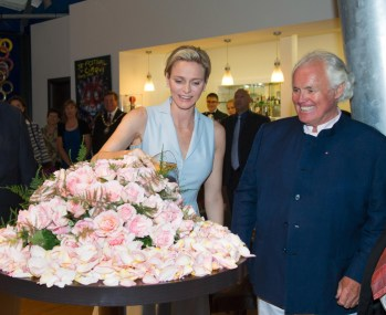 Inauguration Roseraie Princesse Grace 2014