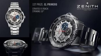 El Primero Stratos Flyback Striking 10th Chronograph.