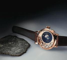 Richard Lange Calendario Perpetuo Terraluna, el más impresionante mecanismo horológico Lunar jamás creado, que además exhibe su comunión con el Sol.