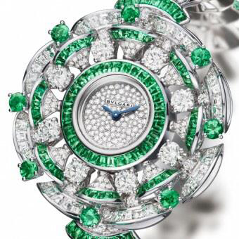 Jewellery Watch Prize: Bulgari Diva Haute Joaillerie Emeraudes