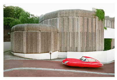 """JAGUAR TYPE E by Renaud Marion collection """"Air Drive""""."""