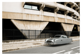 "ASTON MARTIN DB5 by Renaud Marion collection ""Air Drive""."