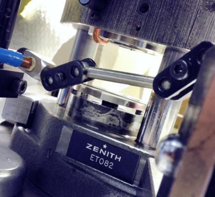 """Pocas, muy pocas manufacturas en Suiza son capaces de construir un movimiento, y Zenith es parte del """"club""""."""