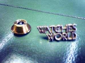 """Watches World acudió a la visita y pudo tomarse una """"selfie"""" con la transmisión de cadena (Fusée) del Academy Georges-Favre Jacot, en homenaje al fundador y a sus 150 años de historia."""