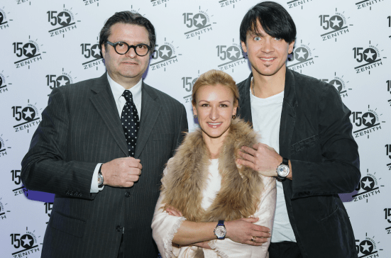Tatiana & Maxim with Aldo Magada