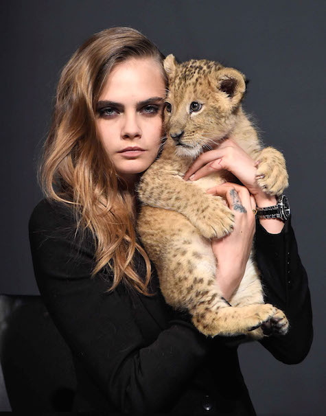 Cara Delevingne Launches TAG Heuer 2015 Campaign