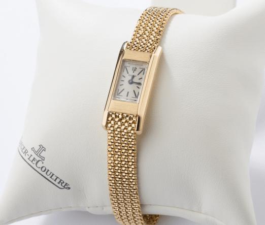 1933 Jaeger-LeCoultre Duoplan watch