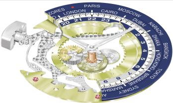 Patek Philippe Chronograph World Time Ref. 5930G14