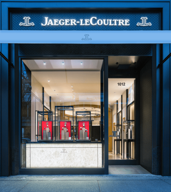 Jaeger-LeCoultre Boutique in Vancouver - Front