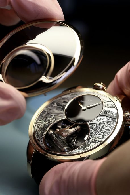 The Charming Bird Jaquet Droz7