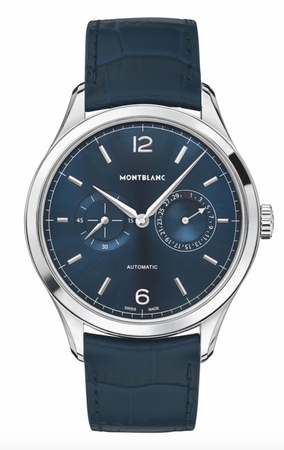 Heritage Chronometrie-Twincounter-blue-Montblanc