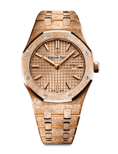 Audemars Piguet Royal Oak Frosted Gold Quartz Watches World.