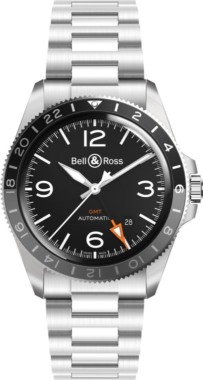 Bell & Ross BRV2-93 GMT 24 H-1