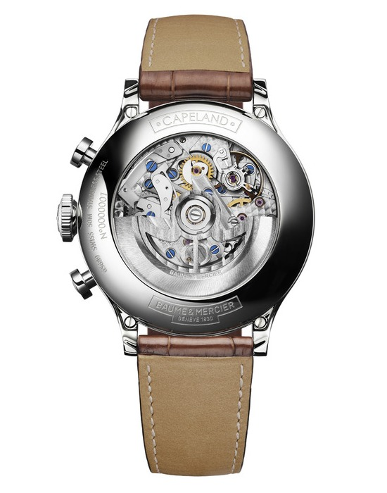 SIHH 2012 Preview: Baume & Mercier Capeland Flyback Chronograph (2/3)