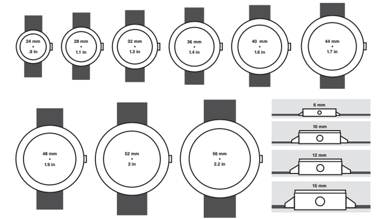 Watch Sizing Guide