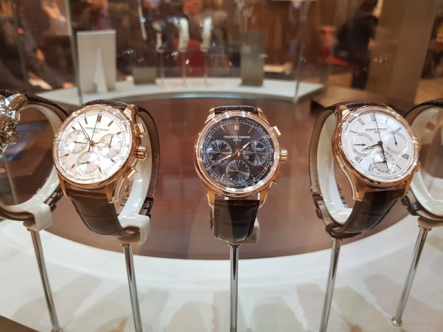 Frederique Constant Flyback Chronograph Manufacture Collection