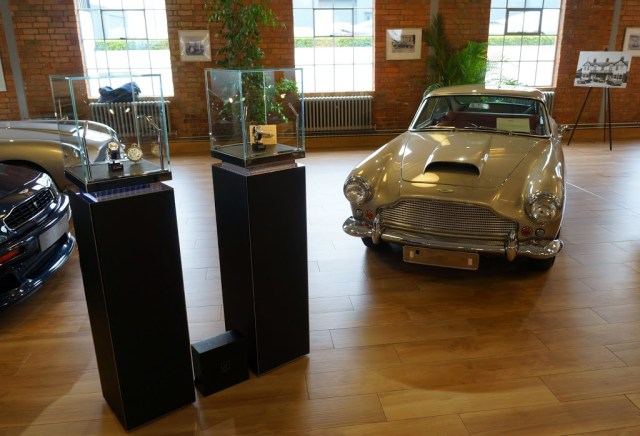 Lonville Watches and Aston Martin DB4