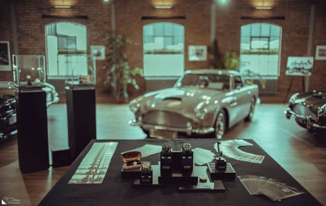 Lonville Watches and Aston Martin Works