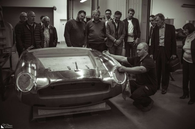 Aston Martin Works tour