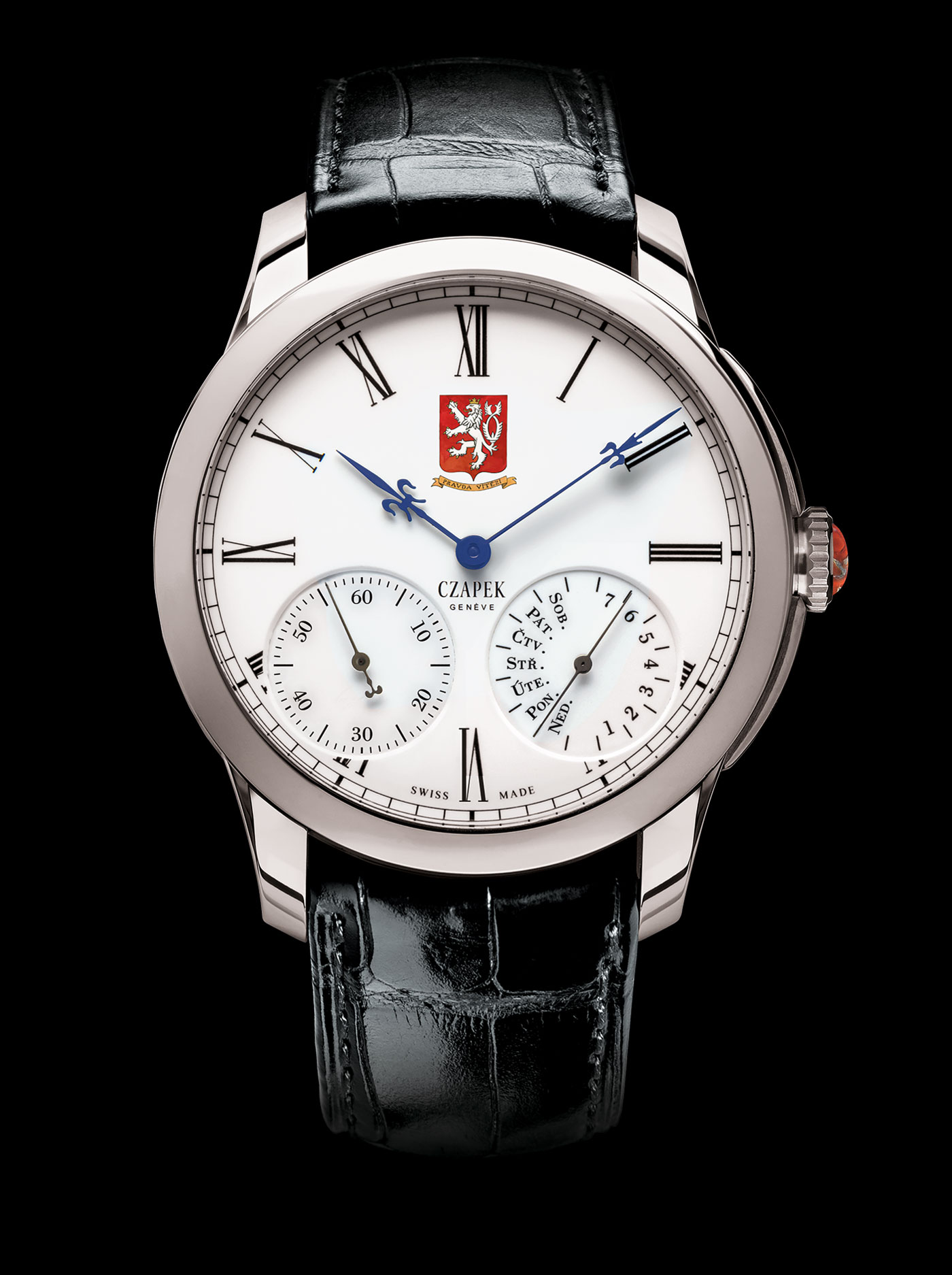 "Czapek & Cie Quai des Bergues ""Tribute to Czechia - 100th Anniversary"""
