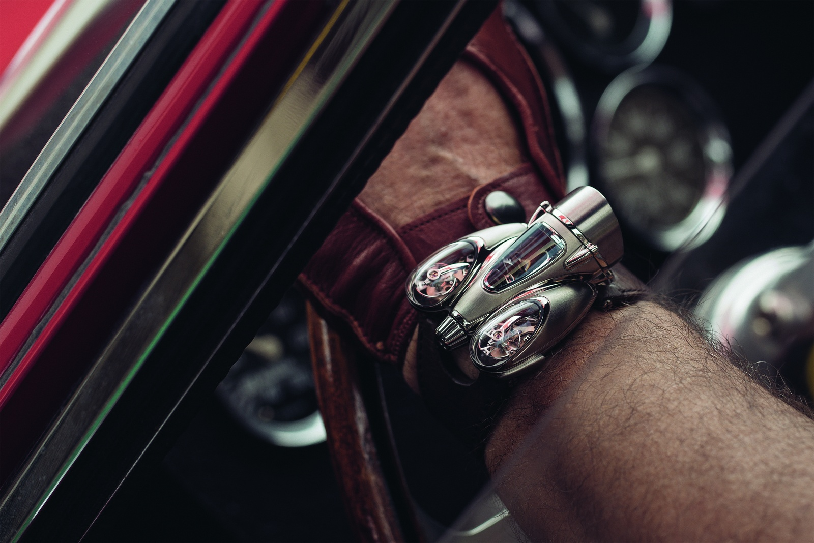 MB&F Horological Machine N°9 'Flow' HM9 wheel