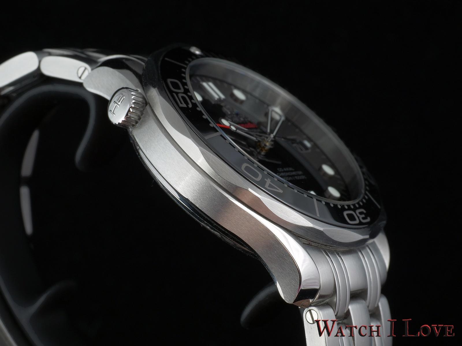 Omega Seamaster Professional oblique He valve