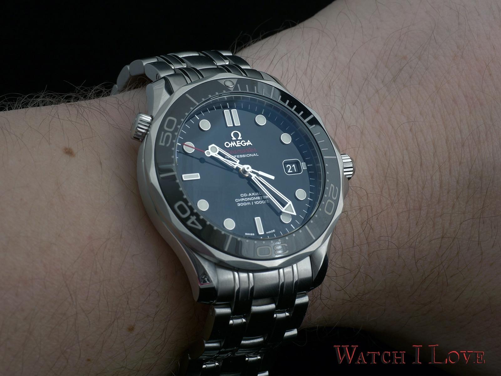 Omega Seamaster Professional wristshot