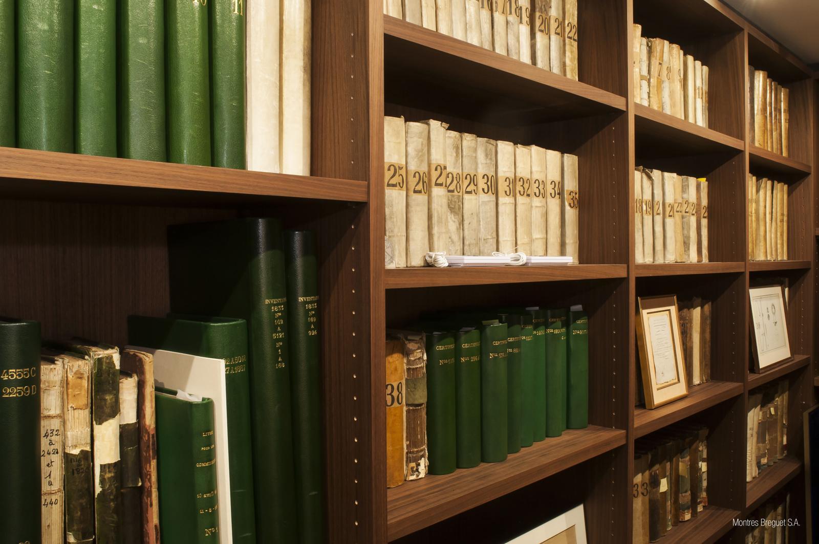 Breguet archives in its Paris Museum
