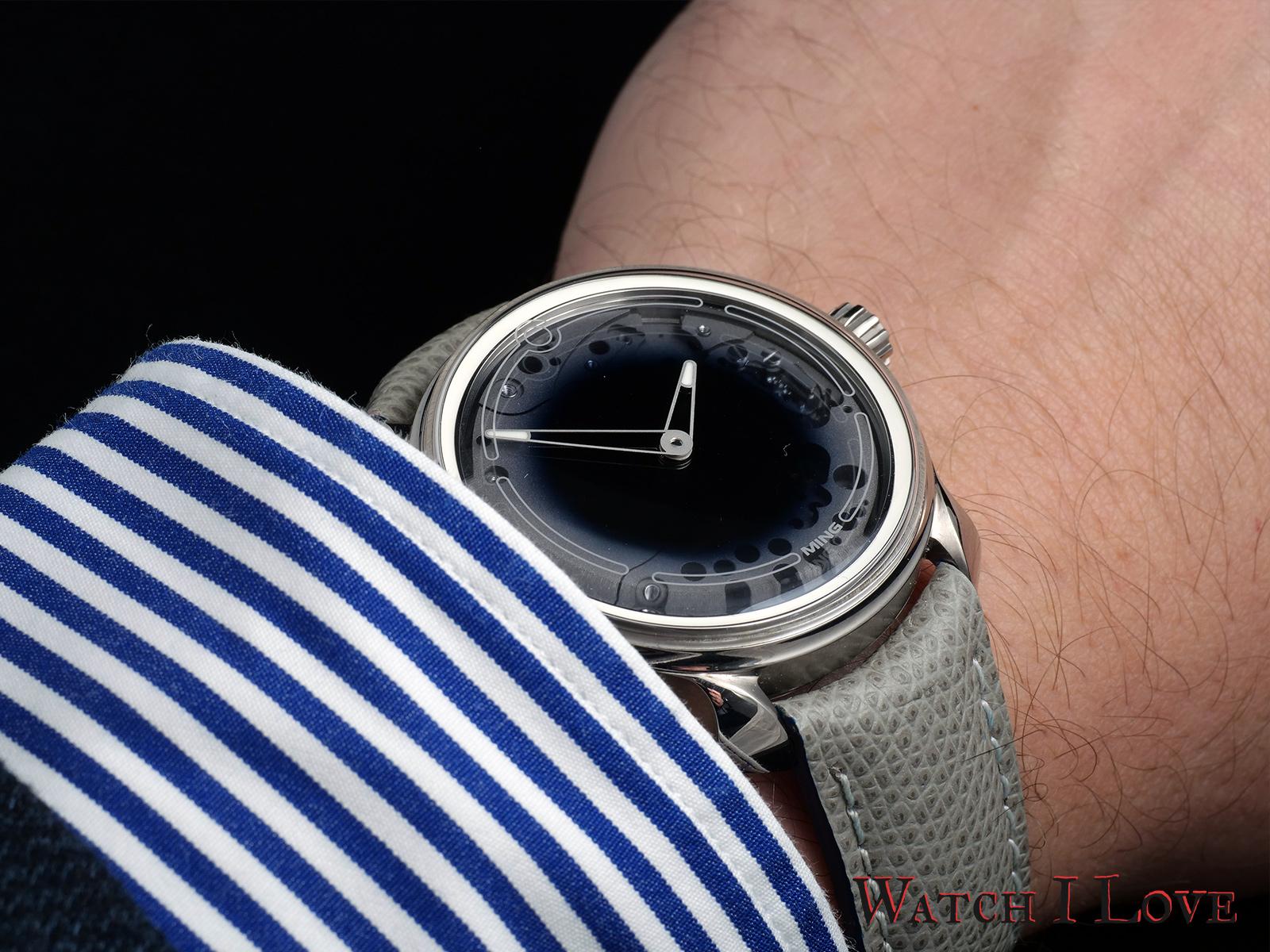 MING-19.01 on the wrist