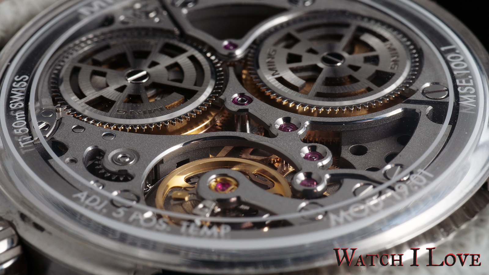 The Ming 19.01 movement MSE100.1