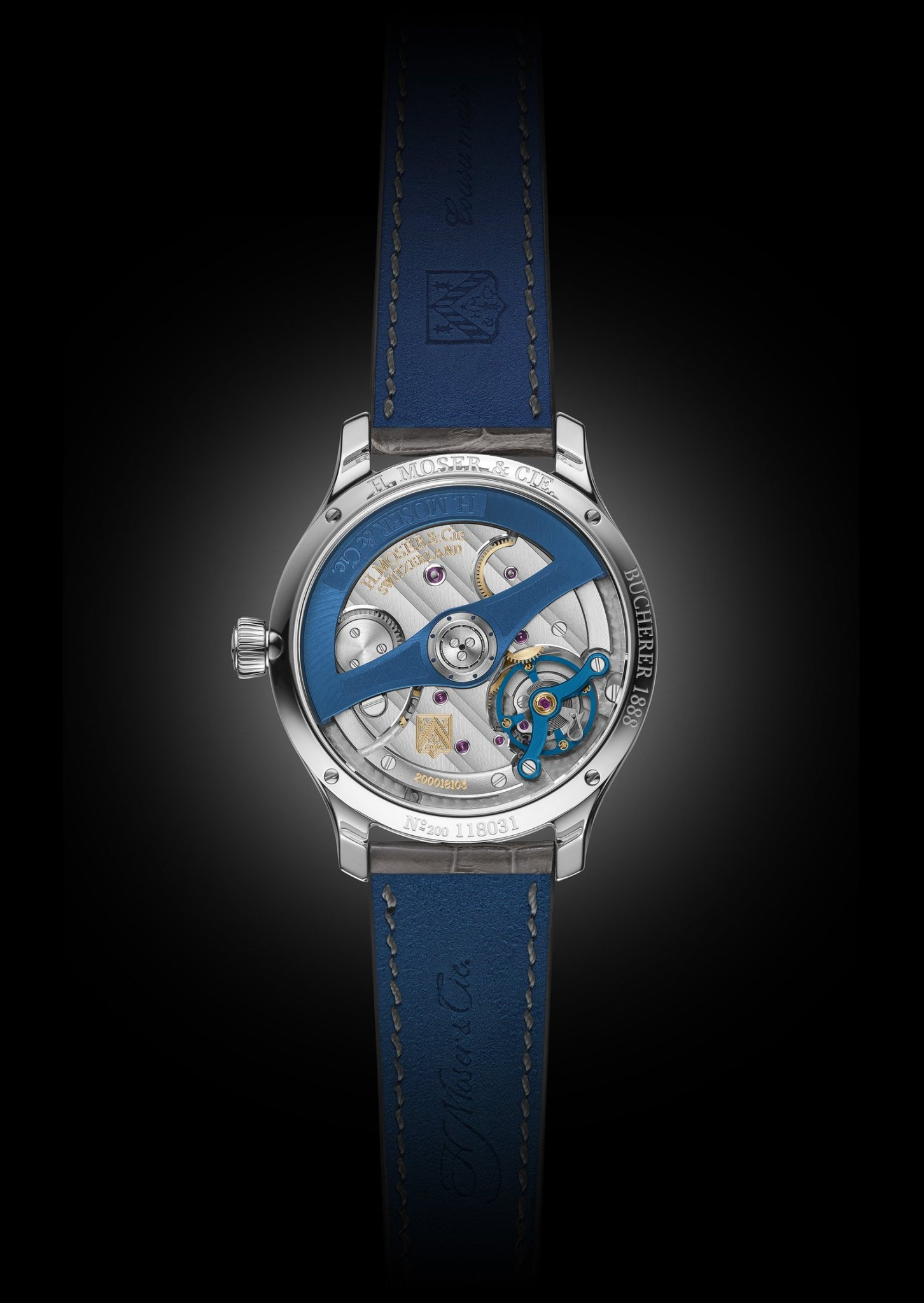 Moser Bucherer Deep Blue
