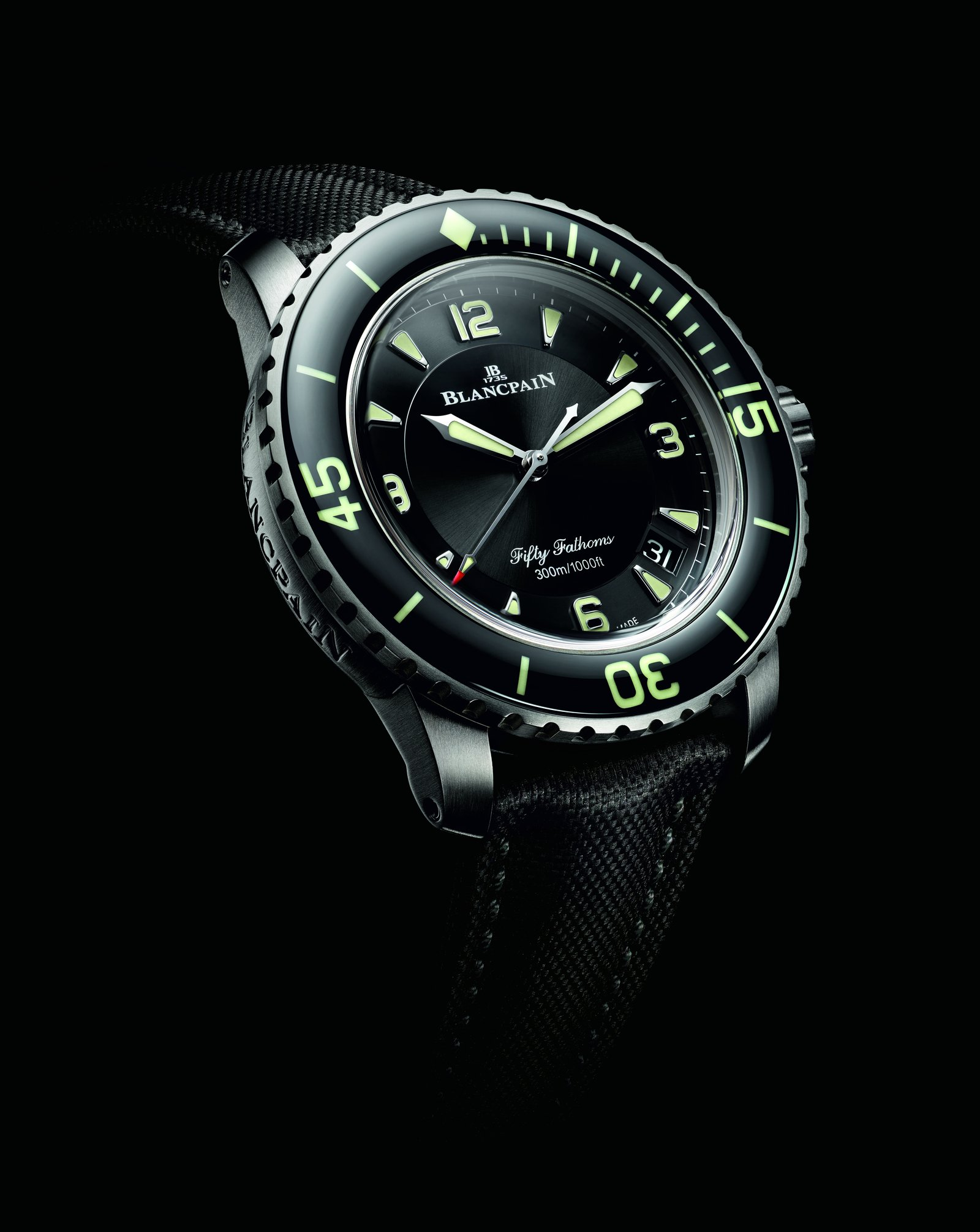Blancpain Fifty Fathoms Titanium media