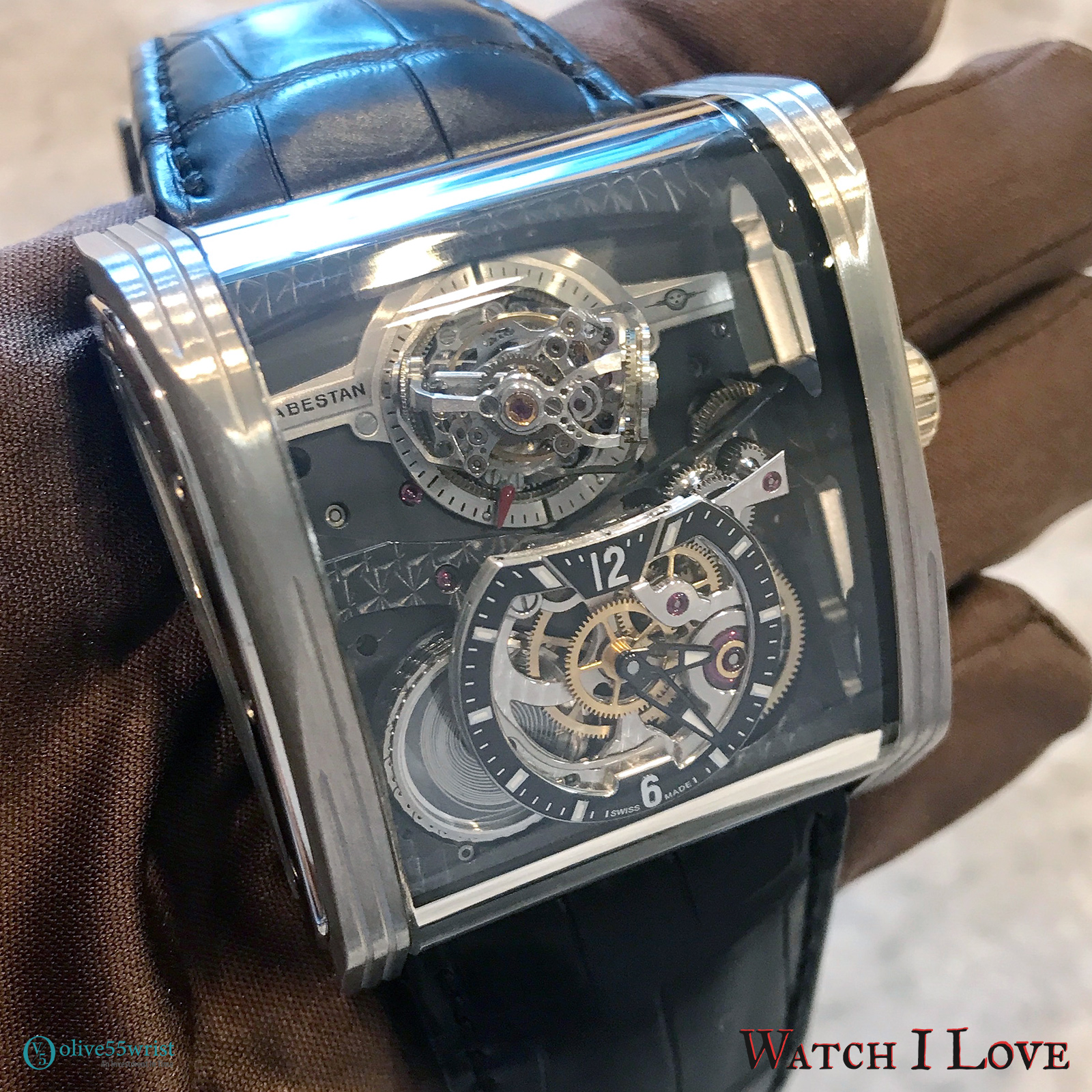 Cabestan Triple Axis Tourbillon