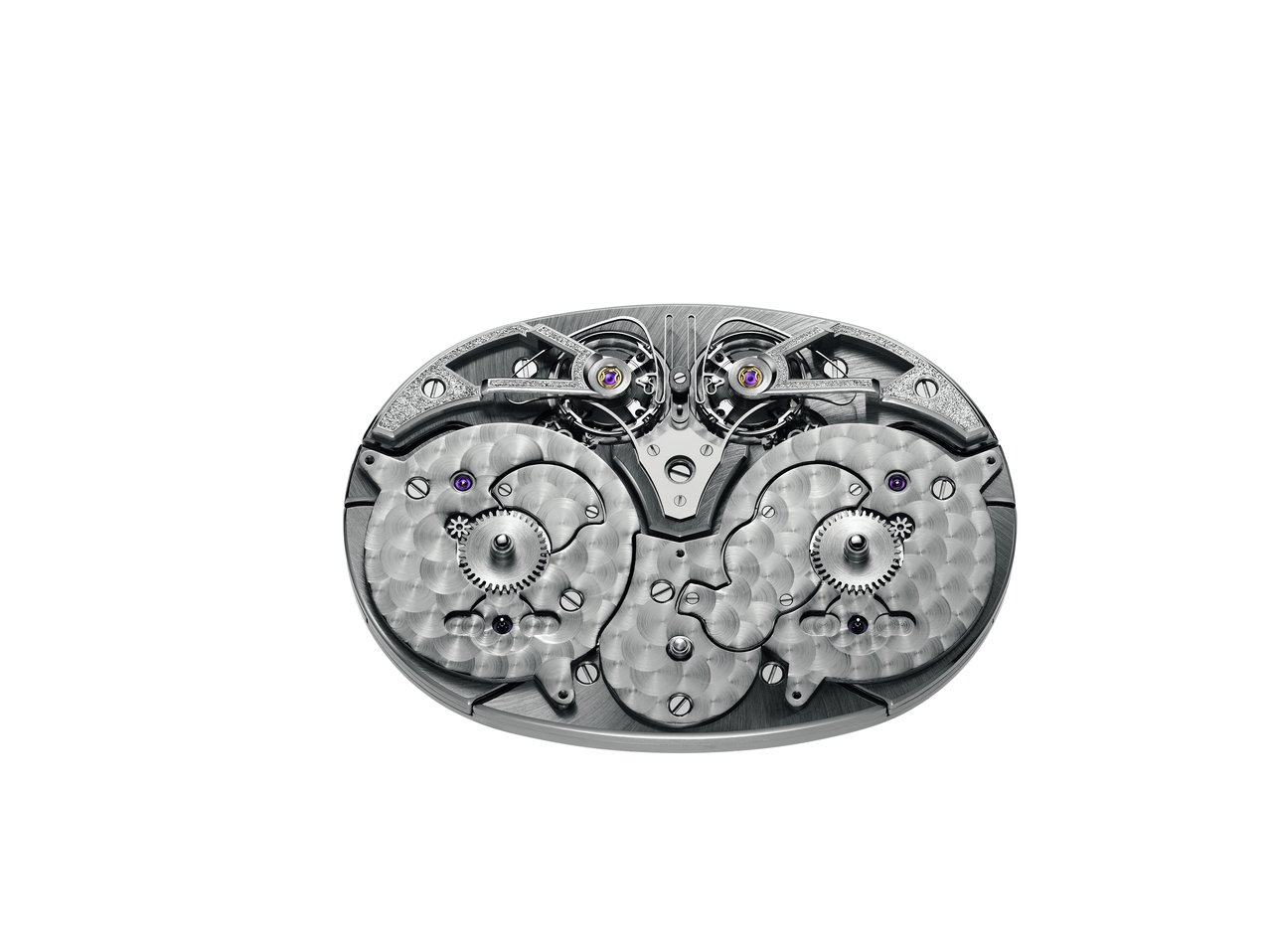 Armin Strom Dual Time Resonance Sapphire movement