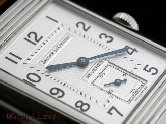 Jaeger-LeCoultre Reverso Duoface Day&Night dial detail