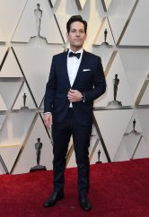 Paul Rudd wearing IWC at the 91st Annual Academy Awards