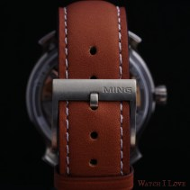 MING 19.02 Worldtimer strap and buckle