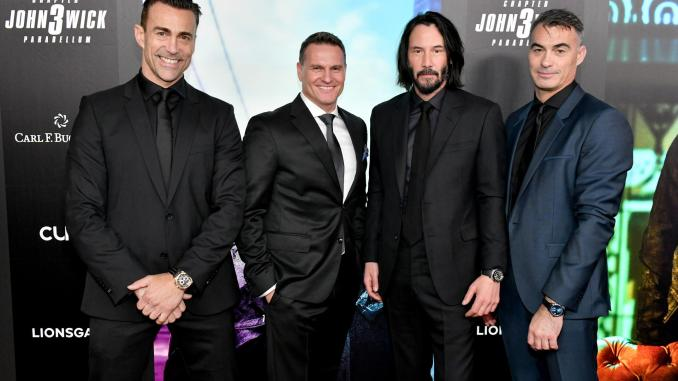 Carl F. Bucherer celebrates in New your City the premiere of John Wick: Chapter 3 - Parabellum