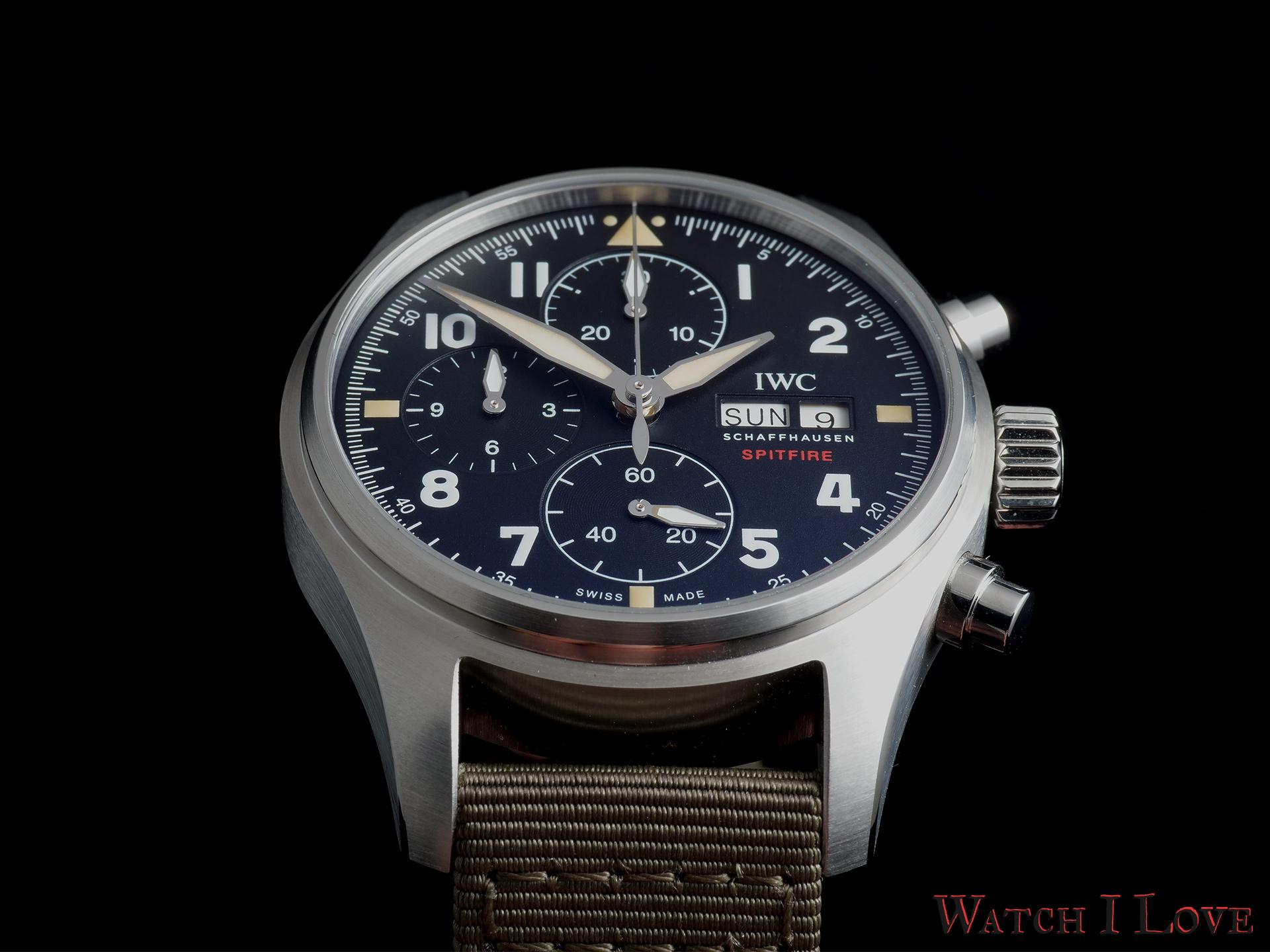 IWC Pilot's Watch Chronograph Spitfire Ref. IW387901 soldat