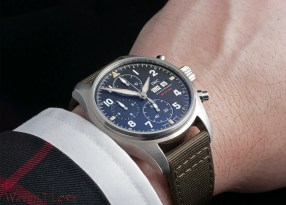 IWC Pilot's Watch Chronograph Spitfire, Ref. IW387901 on the wrist