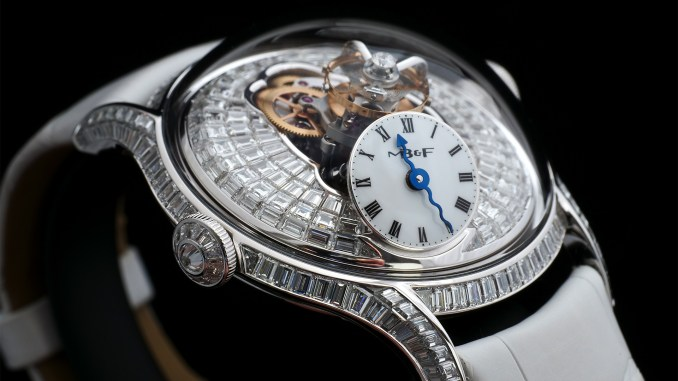 Legacy Machine FlyingT Baguette diamonds edition oblique