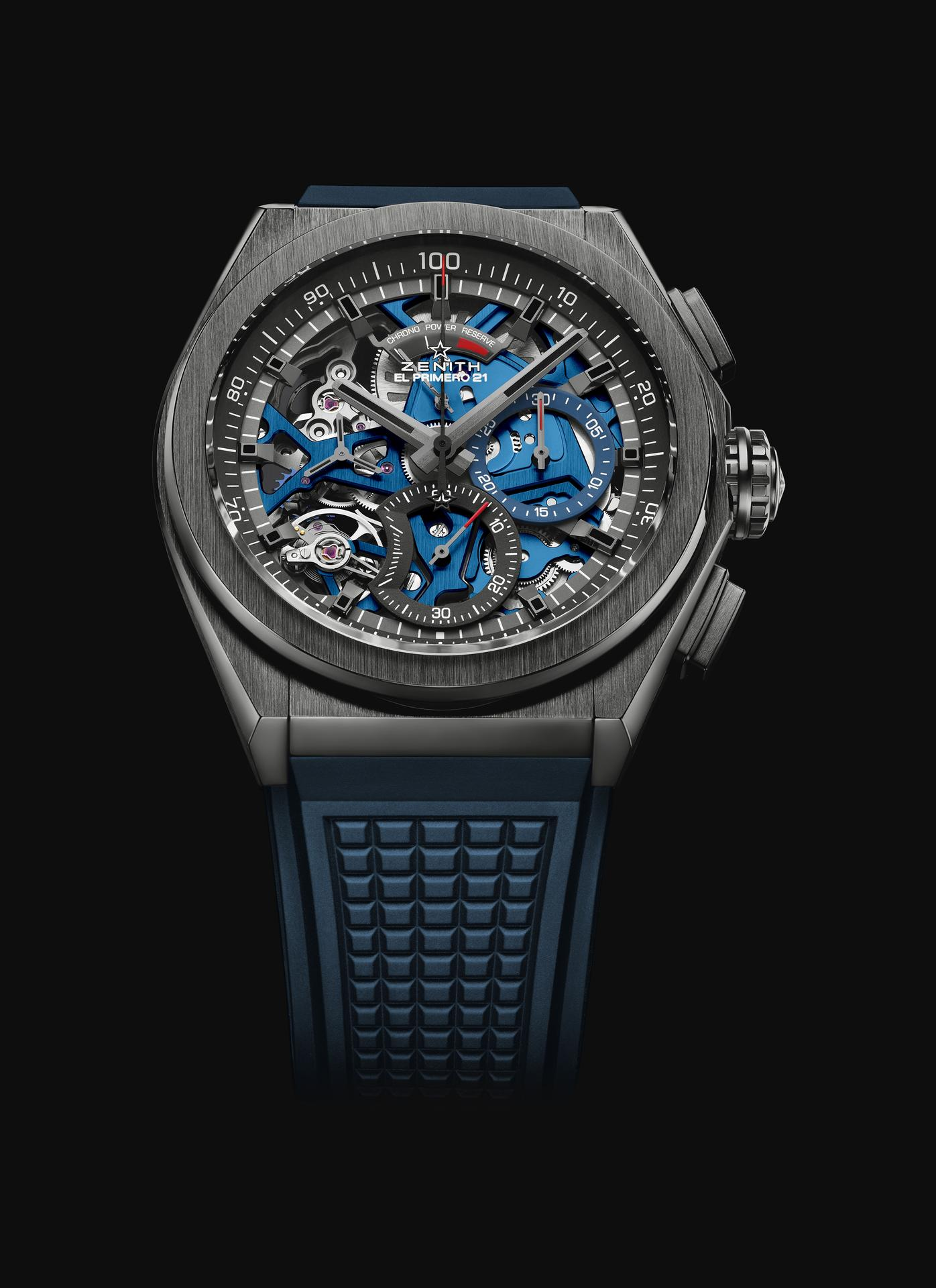 Zenith Defy 21 Ceramic Blue