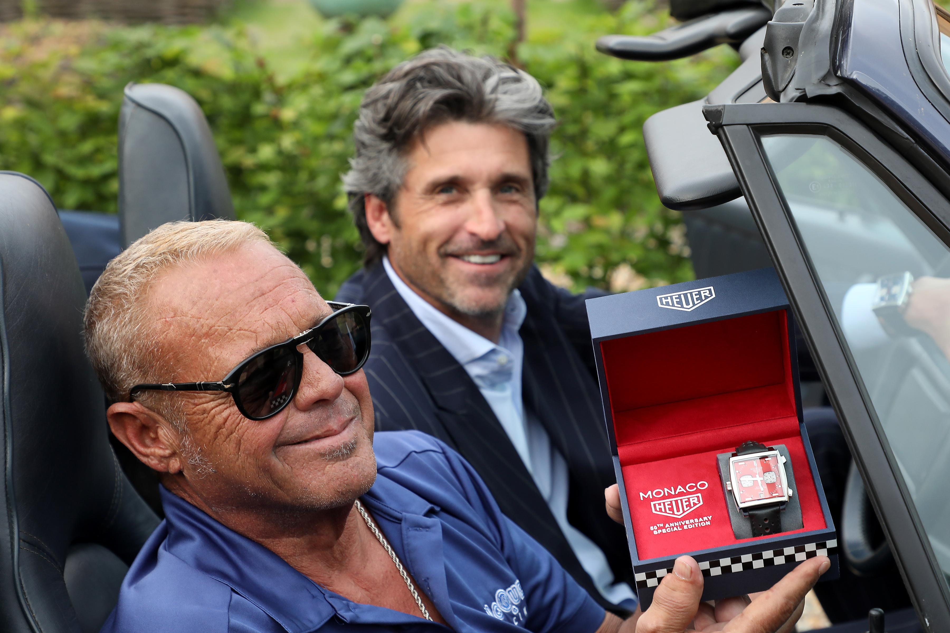 Chad McQueen, Patrick Dempsey and the TAG Heuer Monaco 1979–1989 Limited Edition